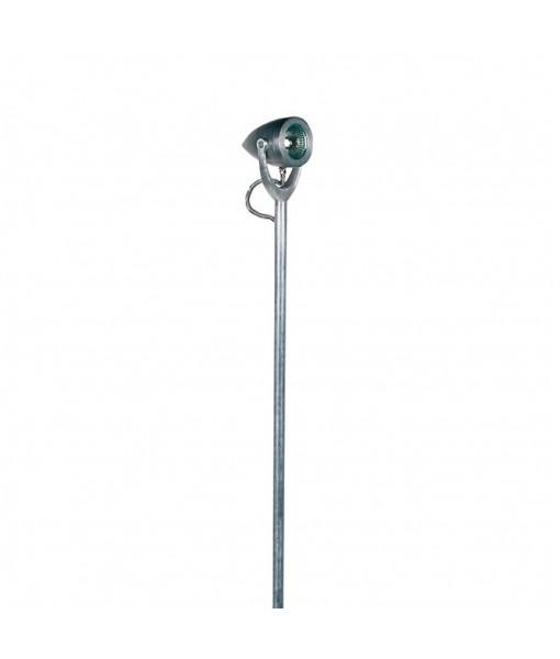BULLET BOLLARD LAMP ZINC