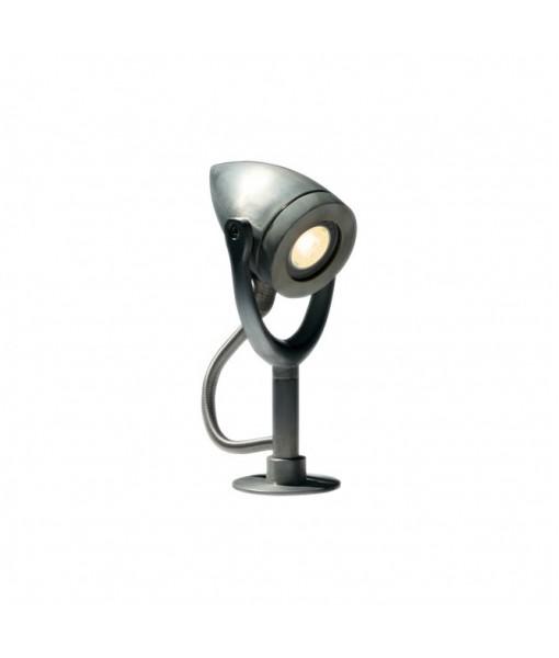 BULLET BOLLARD LAMP GROUND ZINC