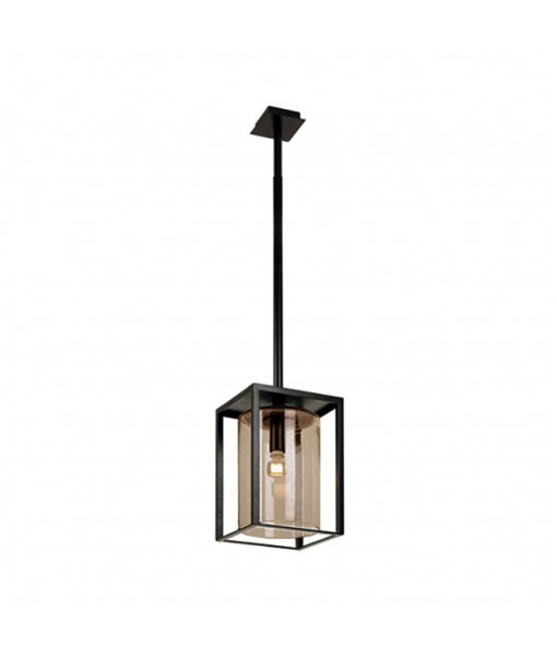 DOME CEILING LAMP LONG AMBER