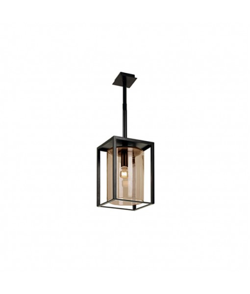 DOME CEILING LAMP SHORT AMBER
