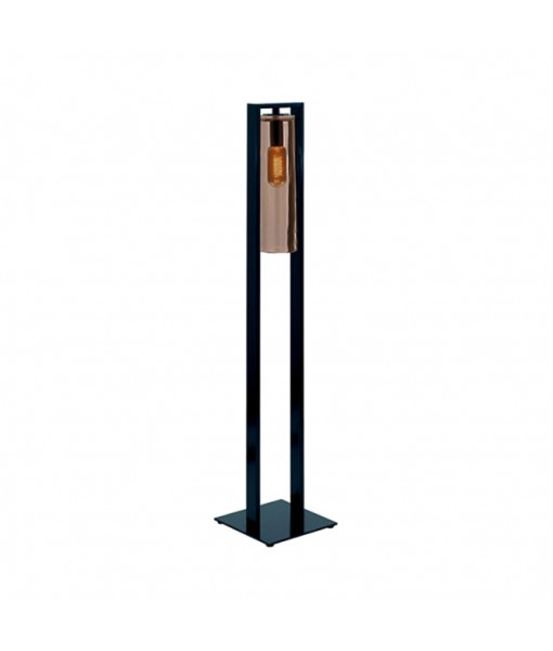 DOME FLOOR LAMP ANTHRACITE AMBER