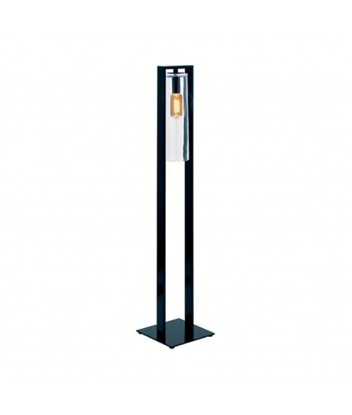 DOME FLOOR LAMP ANTHRACITE CLEAR