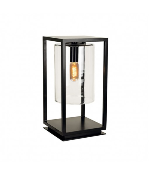 DOME GATE LAMP ANTHRACITE CLEAR