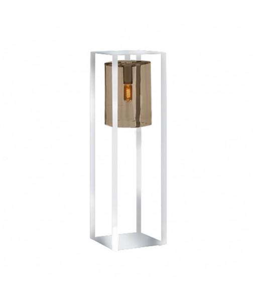 DOME MOVE LAMP WHITE AMBER