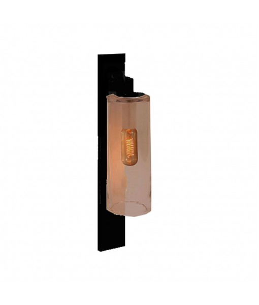 DOME WALL LAMP ANTHRACITE AMBER