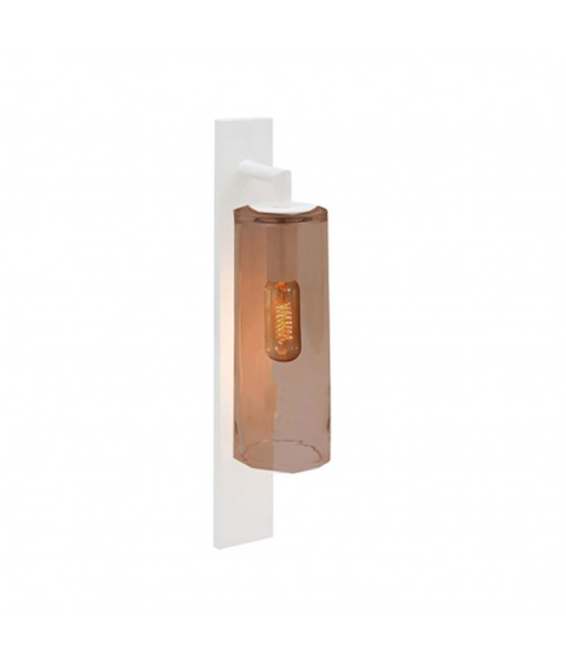 DOME WALL LAMP WHITE AMBER