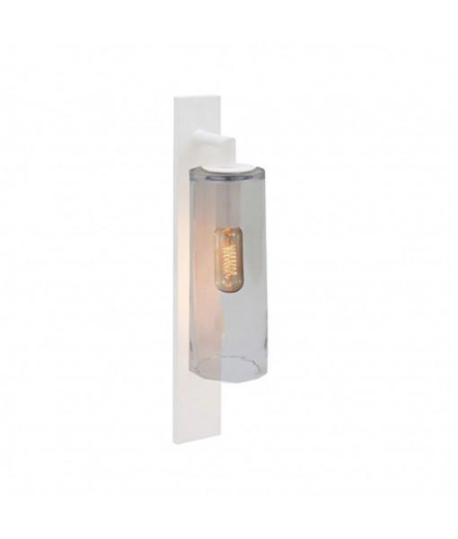 DOME WALL LAMP WHITE SMOKE