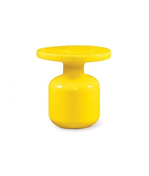 Ceramic Bottle Accent Table