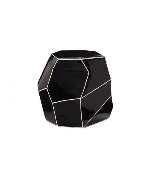 Ceramic Artisan Series Geo Stool/Accent Table
