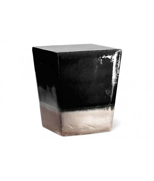 Ceramic Two Glaze Square Cube