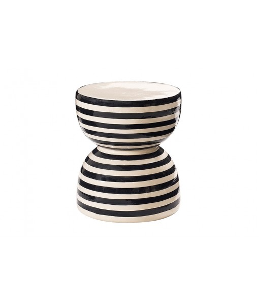 Ceramic Artisan Series Time Stool/Accent Table