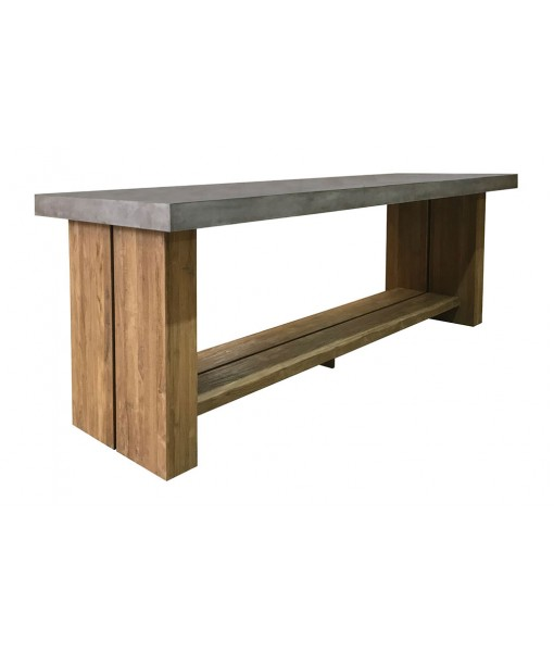 Perpetual Teak Mykonos Bar Table