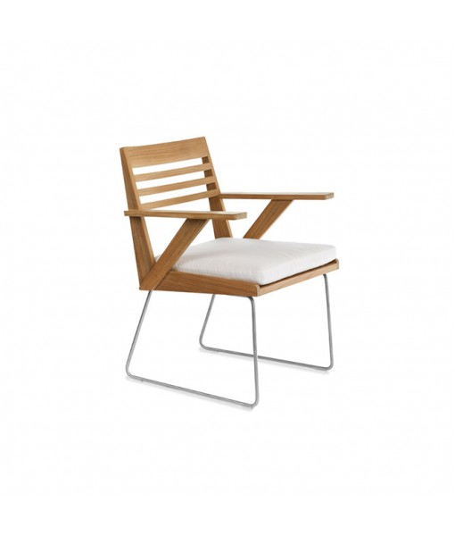 BOOMERANG Dining Arm Chair with Seat ...