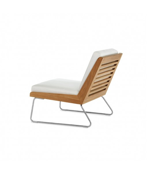 BOOMERANG Slipper Chair with Seat and ...