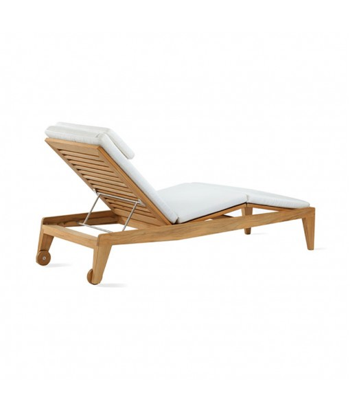 BOOMERANG Adjustable Chaise with Cushion