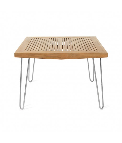 """BOOMERANG 42"""" Square Dining Table"""