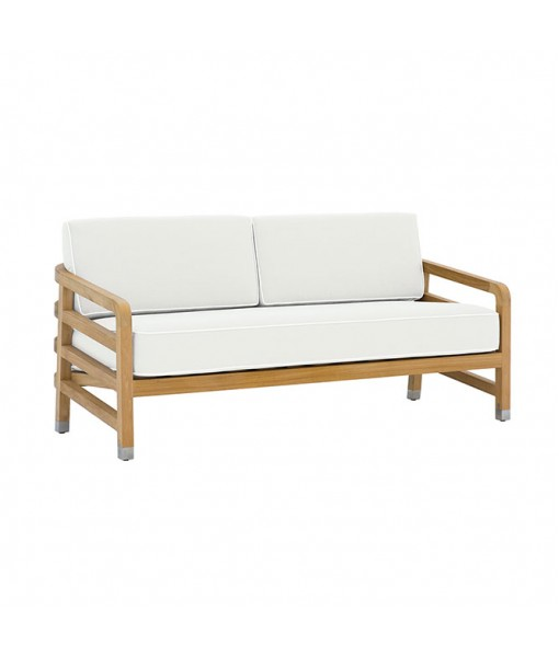 """LINLEY 61"""" Sofa with Seat and ..."""