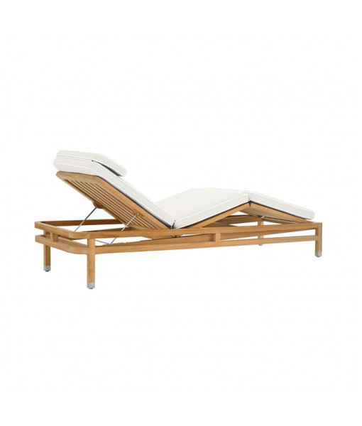 LINLEY Adjustable Chaise with Cushion