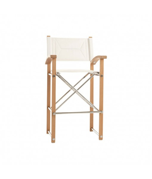 SUNDECK Folding Director's Bar Chair With ...