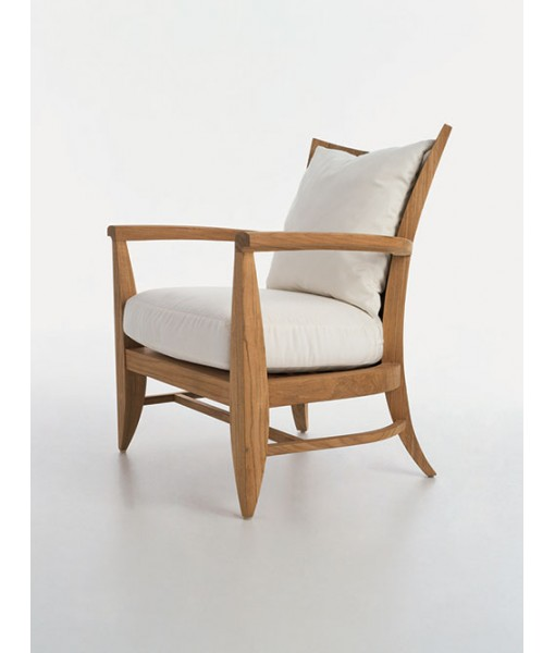 LOGGIA Lounge Chair With Seat Cushion ...