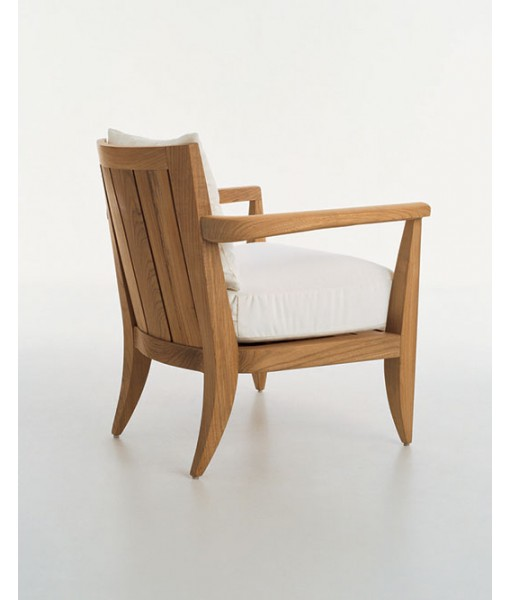 LOGGIA Club Chair With Seat Cushion ...