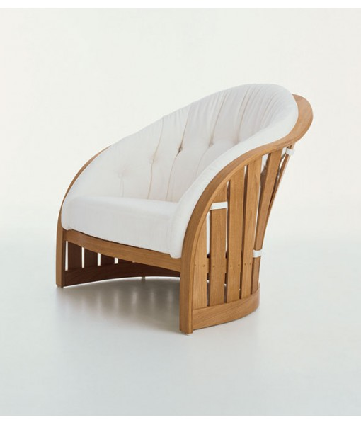 PICKET Lounge Chair with Seat and ...