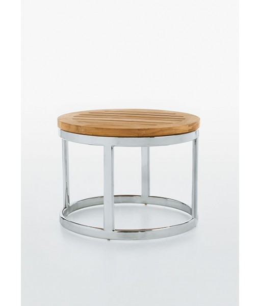 PICKET Occasional Table With Stainless Steel ...