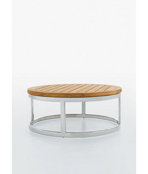 PICKET Coffee Table With Stainless Steel ...