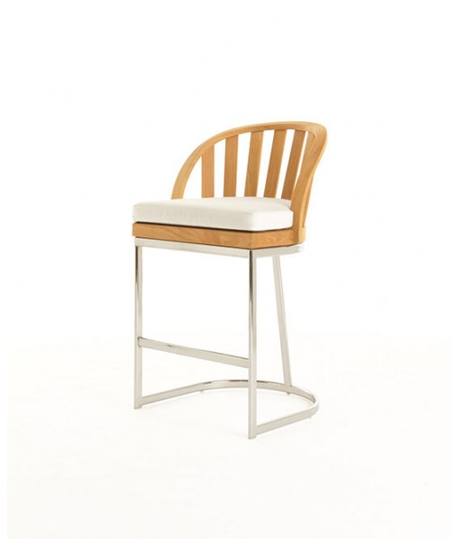 PICKET Counter Chair With Seat Cushion ...