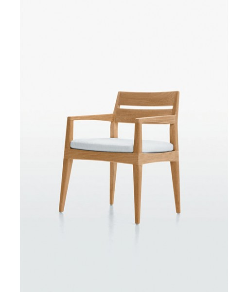 SMOOTHIE Dining Arm Chair With Cushion
